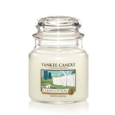 Scented candle Clean Cotton M
