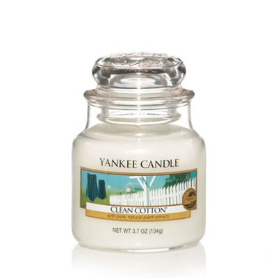 Scented candle Clean Cotton S