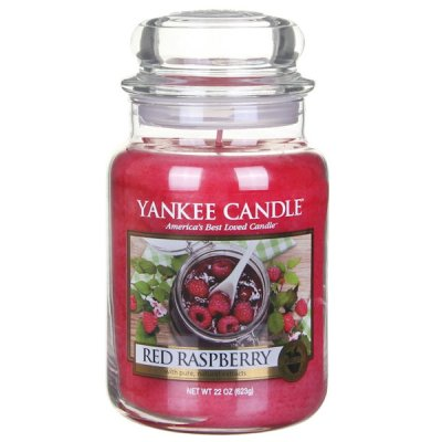 Scented candle Red Raspberry L