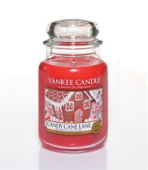 Scented candle Candy Cane Lane L
