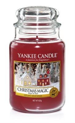 Scented candle Christmas Magic L