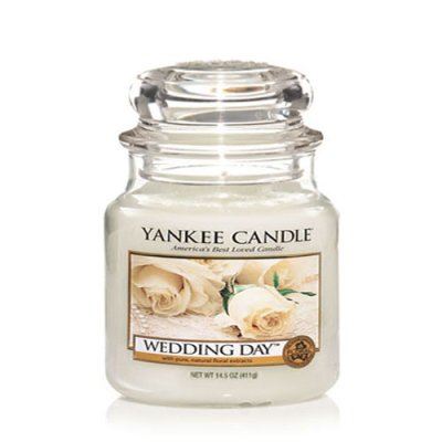 Scented candle Wedding Day M